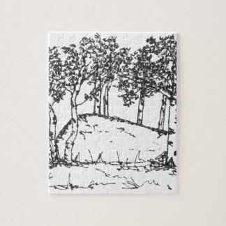 Aspen-Waldung Puzzle