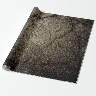 Asphalt Grundge Entwurf Geschenkpapier