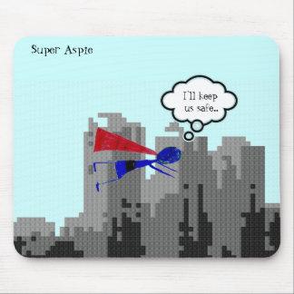 """Aspie, zum des Tages zu retten ..... """"Autismus-Bew Mousepad"""