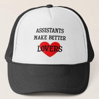 Assistenten machen bessere Liebhaber Truckerkappe