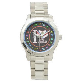 Assyria-Uhr Liebe des Assyrian I Armbanduhr