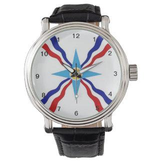 Assyrian Flaggenuhr 2 Armbanduhr