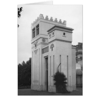Assyrian Haus, universelle Ausstellung, Paris Karte
