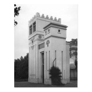 Assyrian Haus, universelle Ausstellung, Paris Postkarte