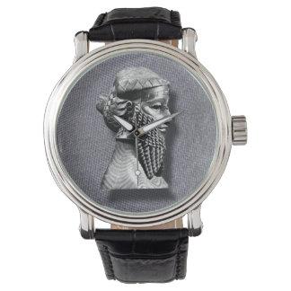 Assyrian König Sargon II Uhr