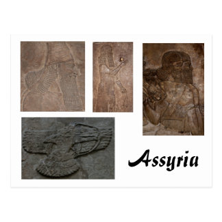 Assyrian Postkarte