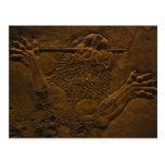 assyrian Steinentlastung im Nordmesopotamia Postkarten