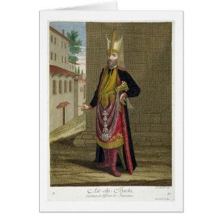 Ast-Chi-Bachi, Koch und Offizier der Janissaries Karte