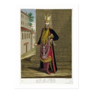 Ast-Chi-Bachi, Koch und Offizier der Janissaries Postkarte
