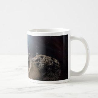 Asteroid beißt den Staub PIA11735 Kaffeetasse