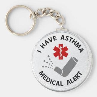 Asthma-Alarm Schlüsselanhänger