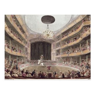 Astleys Amphitheatre von Ackermanns Postkarte