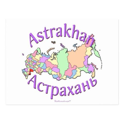 Astrakhan-Stadt Russland Postkarten