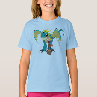 Astrid u. Stormfly Grafik T-Shirt