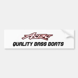 ASTRO Bass-Boots-Aufkleber Autoaufkleber