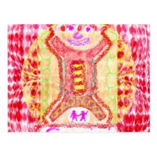 Astrologe Fortuner Erzähler-Symbol-Tierkreis Postkarten
