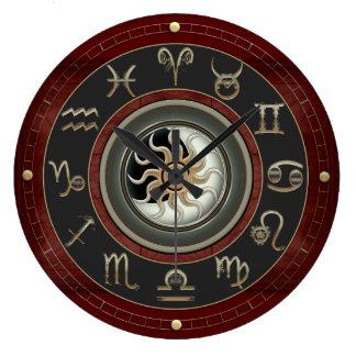 Astrologie Große Wanduhr