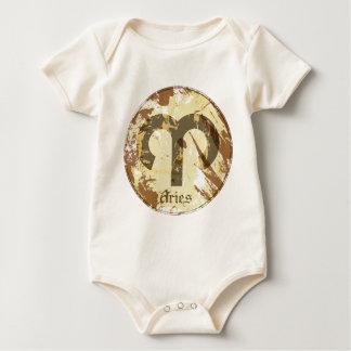 Astrologie-Schmutz-Widder Baby Strampler