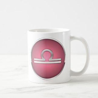 Astrologie-Tierkreis-Zeichen-Tassen-Waage-Waage Kaffeetasse