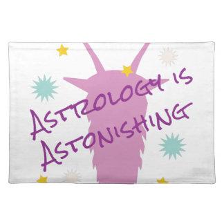 Astrologie-Überraschung Stofftischset