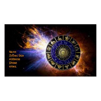 Astrologie-Visitenkarte