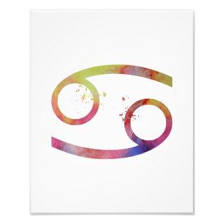 Astrologischer Zeichen-Krebs Fotodruck
