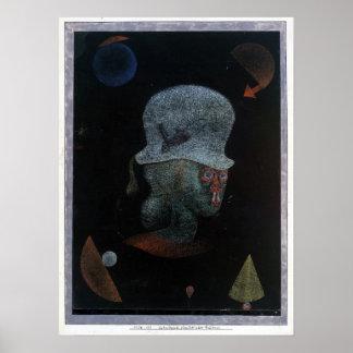 Astrologisches Fantasie-Porträt Paul Klees Poster