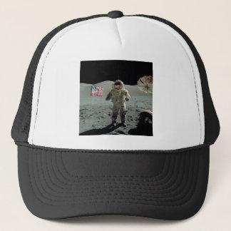 Astronaut Apollo 17 im Stier Littrow Tal Truckerkappe