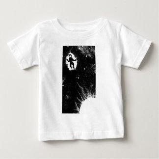 Astronaut auf Feuer Baby T-shirt