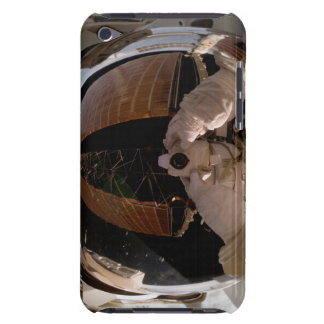 Astronaut benutzt eine digitale ruhige Kamera iPod Case-Mate Case