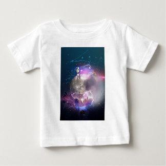 Astronaut, der Supernova reitet Baby T-shirt