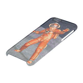 Astronaut Durchsichtige iPhone 6/6S Hülle