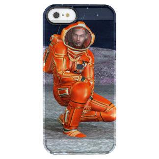 Astronaut Durchsichtige iPhone SE/5/5s Hülle