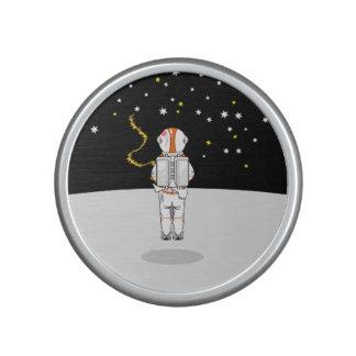 Astronaut gefangenes kurzes Weeing im Raum Bluetooth Lautsprecher