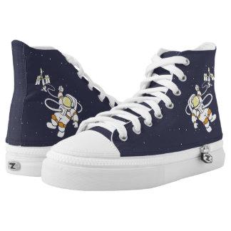 Astronaut Hoch-geschnittene Sneaker