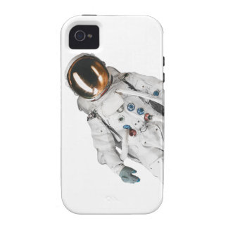 Astronaut im Raum iPhone 4 Hülle