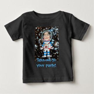 Astronaut im Training - Stern-Kinderschablone Baby T-shirt