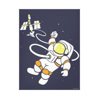 Astronaut Leinwanddruck