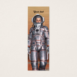 Astronaut Mini Visitenkarte