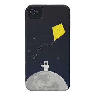 Astronaut mit einem Drachen iPhone 4 Etuis