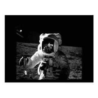 Astronaut Postkarte