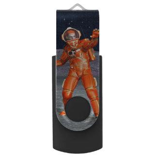 Astronaut Swivel USB Stick 2.0