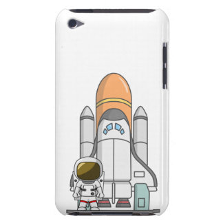 Astronaut u. Raumschiff iPod Touch Hüllen