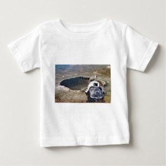Astronaut und der Mond Baby T-shirt