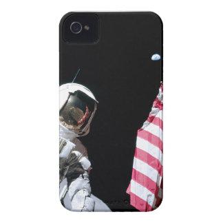 ASTRONAUT, USA-FLAGGE U. ERDE iPhone 4 Case-Mate HÜLLEN