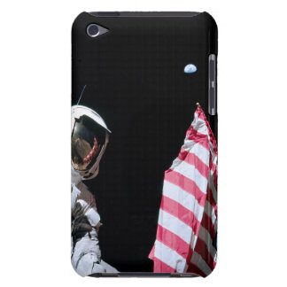 ASTRONAUT, USA-FLAGGE U. ERDE BARELY THERE iPod CASE
