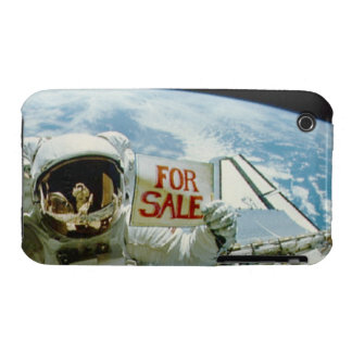 Astronaut verkauft Erde Case-Mate iPhone 3 Hülle