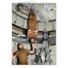 Astronauten Carr u. Pogue auf Skylab 4 Karte