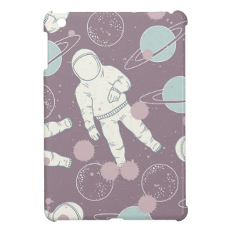 Astronauten im Raum-Muster iPad Mini Schale