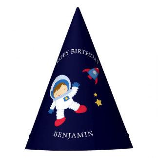 Astronauten-Jungen-Kindergeburtstag Partyhütchen